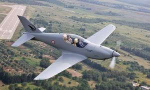 Prime Aviator: 30 Min. oder 60 Min. Kampfflugzeug-Erlebnis mit bis zu 300 km/h selber fliegen bei Prime Aviator (bis zu 69% sparen)
