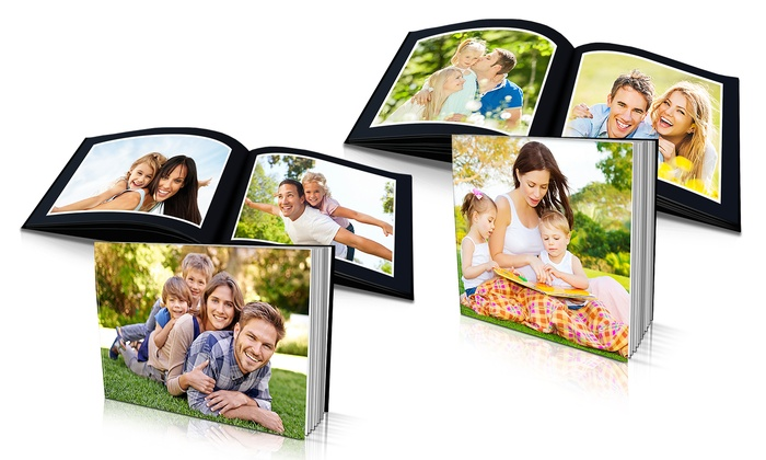 "Photo Deals: Custom 8""x8"" or 8""x6"" Soft-Cover 20 Page Photo Book from Photo Deals Starting at $5"