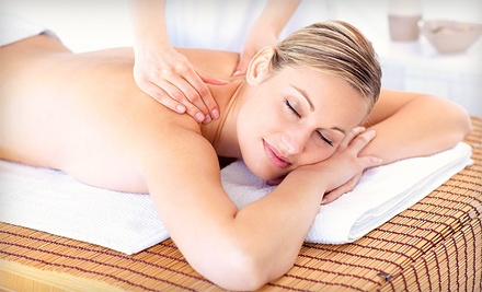 Massage with Optional Back Exfoliation, Four Massages, or Infrared Body Wrap at Gentle Illumination (Up to 57% Off)