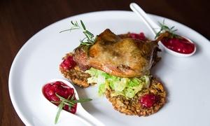 Restauracja Bellevue: Awangardowa 2-daniowa uczta z autorskich dań dla 2 osób za 74,99 zł i więcej opcji w Restauracji Bellevue (do -44%)