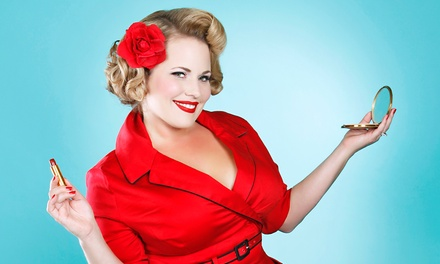 Pinup or Classic Everyday Hair-and-Makeup Seminar for One or Two from Vixen Pin-Up Photography (Up to 78% Off)
