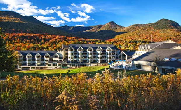 The Mountain Club on Loon - Lincoln, NH: Stay with Dining and Spa Credits at The Mountain Club on Loon in Lincoln, NH. Dates into September.