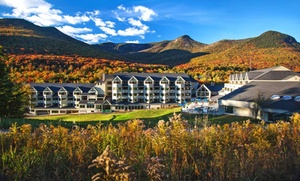 Luxury Resort in White Mountains at The Mountain Club on Loon, plus 6.0% Cash Back from Ebates.