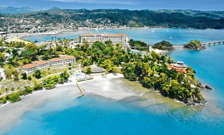 5-Night All-Inclusive Grand Bahia Principe Cayacoa Resort Stay with Airfare. Price Per Person Based on Double Occupancy.
