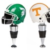NCAA Football Helmet Bottle Stoppers