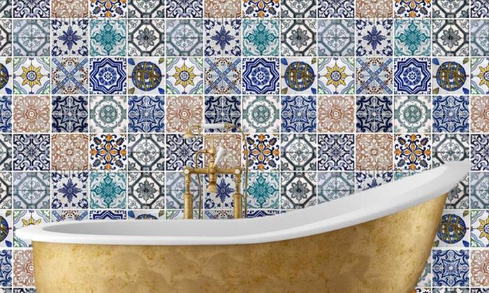 adesivi da parete a mosaico groupon goods