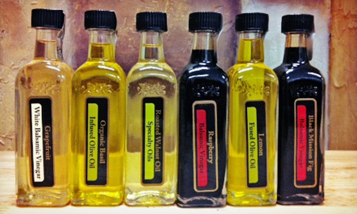 Oh, Olive! - DePaul: $10 for $20 Worth of 60-ml Olive Oil and Balsamic Vinegar Sampler Bottles at Oh, Olive!
