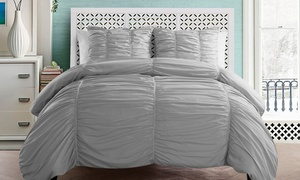 Madeira Ruched Microfiber Duvet Sets (2- or 3-Piece) at Madeira Ruched Microfiber Duvet Sets (2- or 3-Piece), plus 9.0% Cash Back from Ebates.