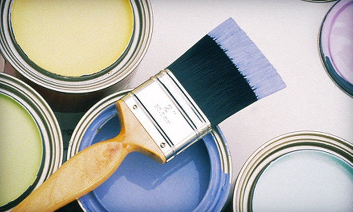 Davis Painting - Omaha: $149 for Painting of Two Rooms from Davis Painting ($384 Value)