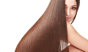 Suzette Audia The Hair Design Group: One or Two Brazilian Keratin Treatments at Suzette Audia The Hair Design Group (Up to 66% Off)