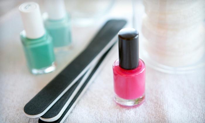 Shimmer Salon - Dalton Gardens: Mini Gel Mani-Pedi or a Full Set of Acrylic Nails with One Fill at Shimmer Salon in Dalton Gardens (51% Off)