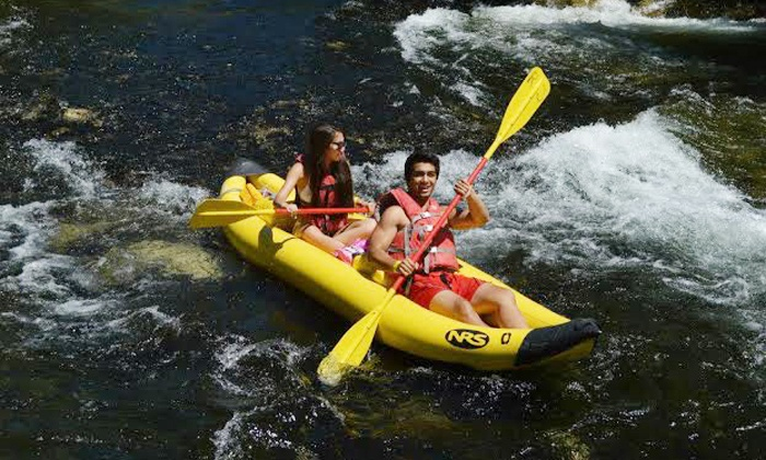 River Journey Adventures - Oakdale: Self-Guided Kayak or Rafting Trip for Two, Four or Six on the Stanislaus River from River Journey (50% Off)