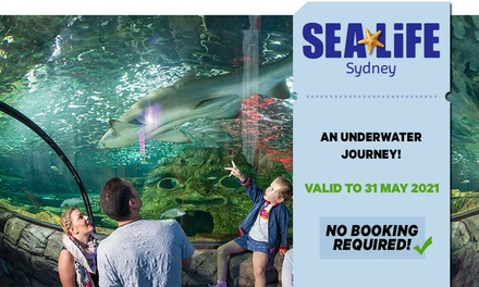 SEA LIFE Sydney: Child ($26.40) or Adult ($36.80) Entry (Up to $46 Value) - Valid till 31st May 2021