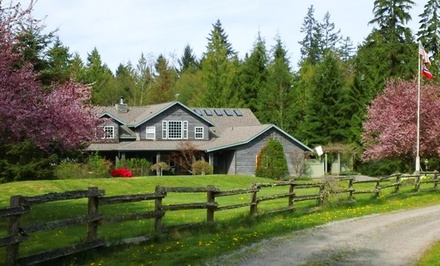 Groupon Deal: 2-Night Stay for Two in a Moonbeam, Sunny View, Creekside, or Dragonfly Suite at Lost Mountain Lodge in Sequim, WA