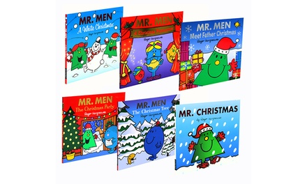 Mr. Men Six-Book Christmas Collection