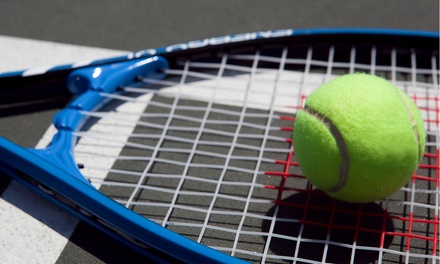 Three Weeks of Indoor Group Tennis Lessons for One Adult or One Child from Greensboro Tennis Program (Up to 60% Off)