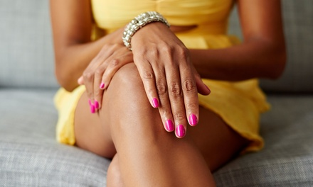 Two Manicures, One Manicure and Spa Pedicure, or Full Set of Acrylics Nails by Tara at Salon Eclips (Up to 47% Off)