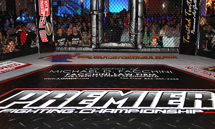 Premier Fighting Championship 17 - The Palladium: Premier Fighting Championship 17 MMA Event for Two or Four on Saturday, September 20, at 7 p.m. (Up to 51% Off)