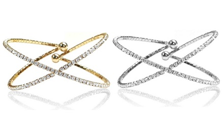 Armband aus Messing in Silber oder Gold
