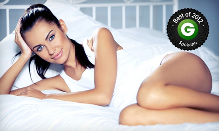 Louisville Laser and Spa - North Spokane: $129 for Two Laser Spider-Vein-Removal Treatments at Louisville Laser and Spa ($598 Value)