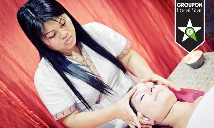 Thai Smile - Poznań: Dowolny masaż tajski od 79,99 zł w Salonie Masażu Thai Smile (-50%)
