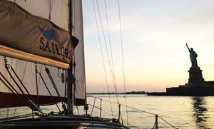 Sailors NYC: One or Three Hands-On Group Sailing Lessons, or One Private Sailing Lesson at Sailors NYC (Up to 49% Off)