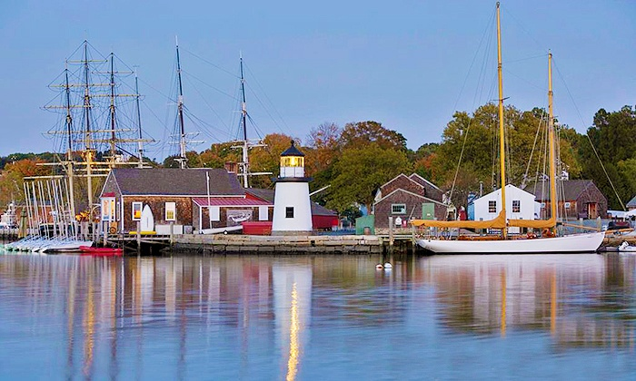 Mystic Seaport - Mystic Seaport: Visit for Two, Four, or Six to Mystic Seaport: The Museum of America and the Sea (Up to 52% Off)