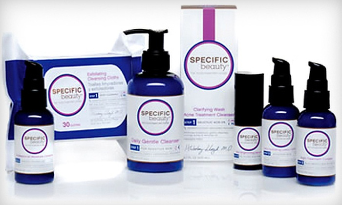 Specific Beauty: $44 for a Specific Beauty Regimen with Lotion, Brightening Serum, and Cleanser from Specific Beauty ($100.95 Value)