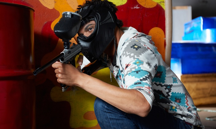 Luzerne County Paintball - Luzerne County Paintball: Full-Day Indoor Paintball Pass for Two or Four with Equipment at Luzerne County Paintball (Up to 58% Off)
