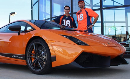 15-Mile Drive or Ride-Along in a 2011 Lamborghini Gallardo at Oxotic Supercar Driving Experience (Up to 67% Off)