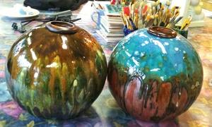 Crankpots Ceramics Studio: CC$29 for a Paint-Your-Own Ceramics Outing at Crankpots Ceramic Studio (CC$50 Value)