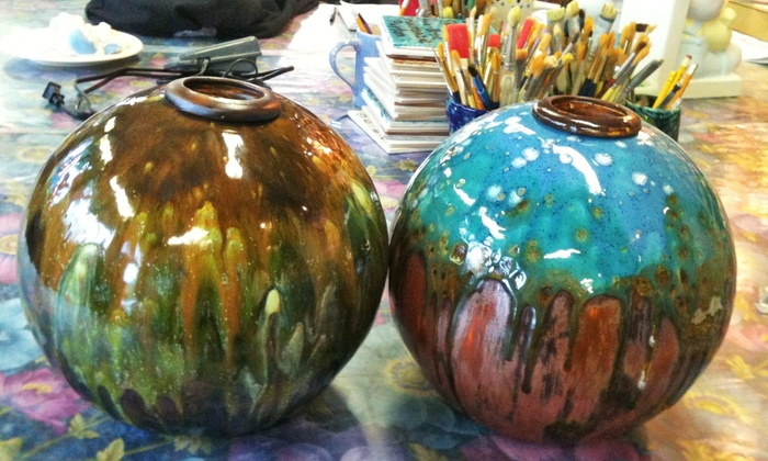 Crankpots Ceramics Studio - South Central Edmonton: C$29 for Paint-Your-Own Ceramics Outing  at Crankpots Ceramic Studio (C$50 Value)