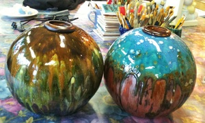 Crankpots Ceramics Studio: CC$29 for Paint-Your-Own Ceramics Outing  at Crankpots Ceramic Studio (CC$50 Value)