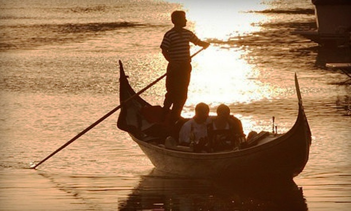 Sunset Gondola - Huntington Beach: 60- or 90-Minute Private Gondola Cruises for Up to Four from Sunset Gondola (51% Off)
