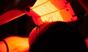 Planet Beach: One Month of Unlimited Red Light Therapy or Spray Tanning at Planet Beach (Up to 87% Off)