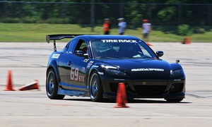EBL Racing: $149 for Introductory Race-Car-Driving Class from EBL Racing ($499 Value)