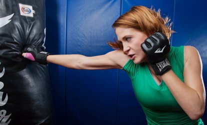 Five <strong>Kickboxing</strong> Sessions for One or Two People at Apex Mixed Martial Arts (Up to 80% Off)