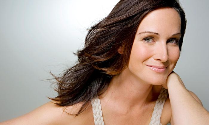 KE Salon - Costa Mesa: Haircut Package with Optional Partial Highlights at KE Salon (Up to 67% Off)