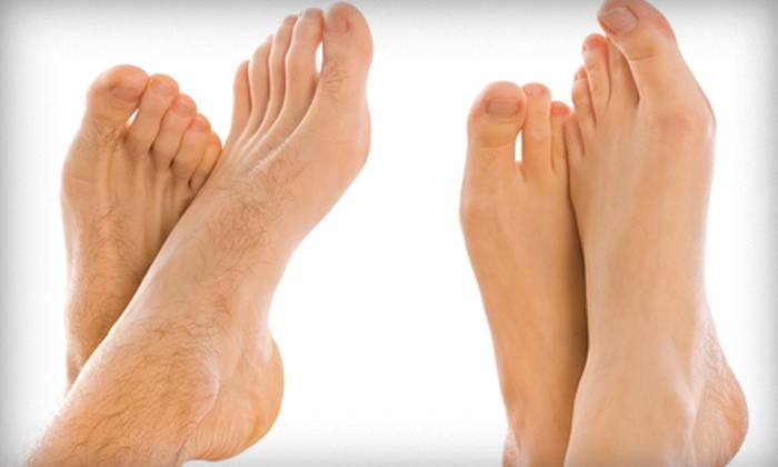 San Tan Foot and Ankle PLC - Multiple Locations: One or Two Laser Toenail-Fungus-Removal Treatments for One or Both Feet at San Tan Foot and Ankle PLC (Up to 63% Off)