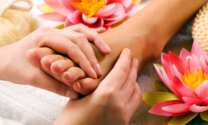 My Foot Spa: An 45-Minute Acupressure Massage at My Foot Spa (49% Off)