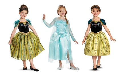 Disney's Frozen Girls' Halloween Costumes