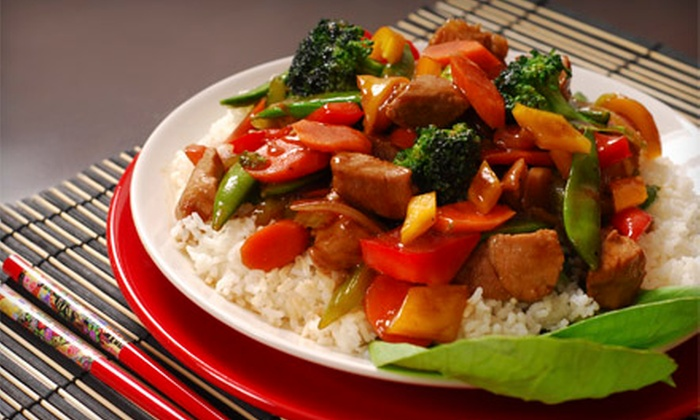 House of Wong - Multiple Locations: $15 for $30 Worth of Asian Cuisine at House of Wong. Two Locations Available.
