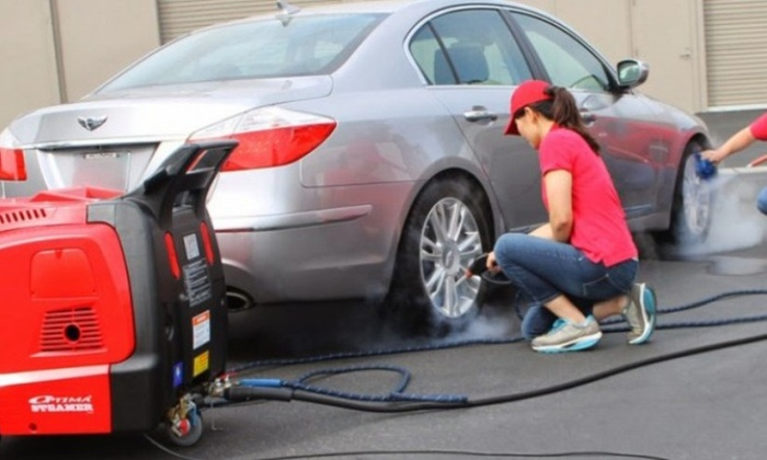 Mobile Steamer Wash - Tampa Bay Area: A Hand Car Wash with Interior Cleaning at Mobile Steamer Wash (47% Off)