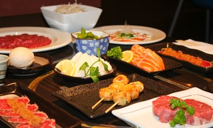 Takumi: 10-Course Wagyu and Seafood Degustation with Sake for Two ($99) or Four People ($189) at Takumi, CBD (Up to $407 Value)