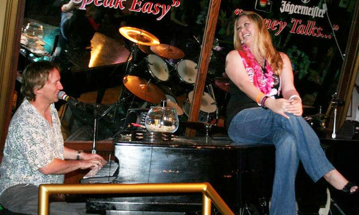 Sopranos Dueling Piano Bar - Central Beach: Pub Food and Drinks at Sopranos Dueling Piano Bar (Up to 60% Off). Three Options Available.