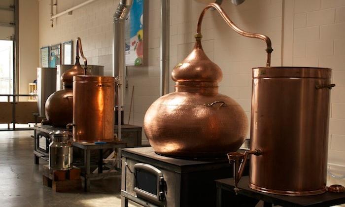 Hands-On Vodka-Flavoring Workshop - Bluewater Organic Distilling: Create Your Own Flavored Vodka with a Master Distiller