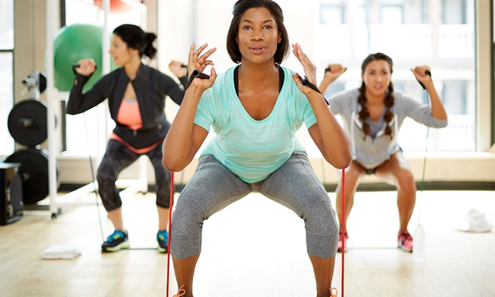 Burn Boot Camp - Creedmoor Rd. (Raleigh) - Burn Boot Camp - Creedmoor Rd. (Raleigh): One Month of Unlimited Women's Boot-Camp Classes for One or Two at Burn Boot Camp (Up to 88% Off)