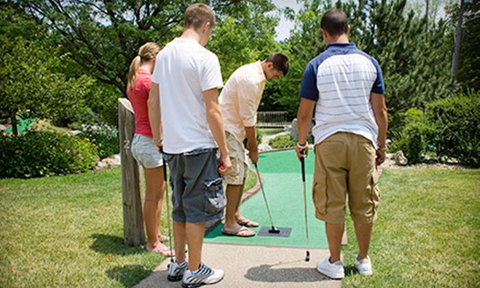 Goony Golf - Goony Golf: Two Rounds of Mini Golf for Two or Four at Goony Golf (Up to 54% Off)