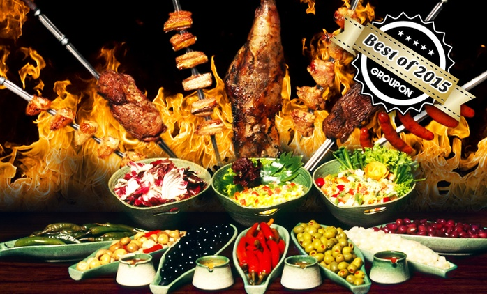 Rodizio All-you-can-eat in P'berg