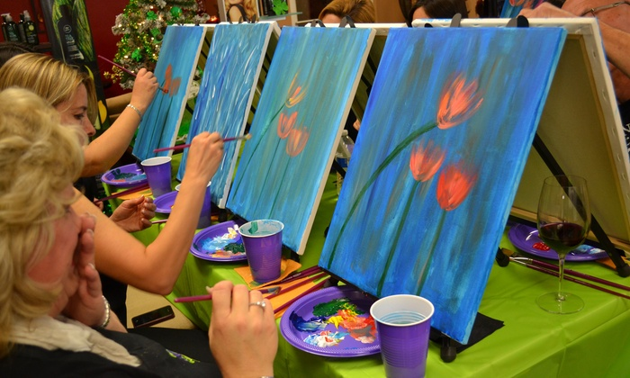 Paint & More Events - San Jose: Up to 70% Off Paint Party/Class at Paint & More Events